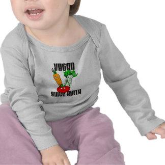 Vegan Since Birth T-shirts