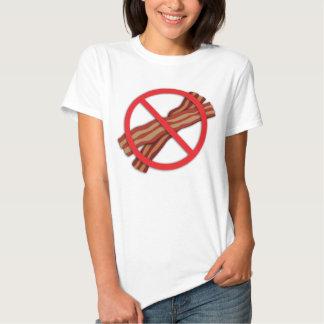 Vegan Stop the Madness No Bacon Zone Tee Shirt