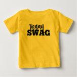 VEGAN SWAG baby jersey Tee Shirt