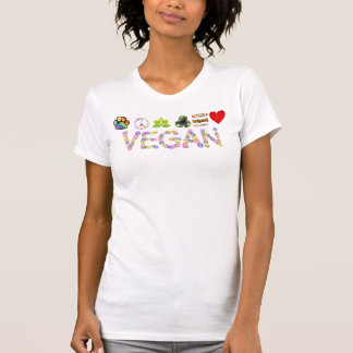 Vegan * Symbols of Love, Peace and Compassion T T-shirts