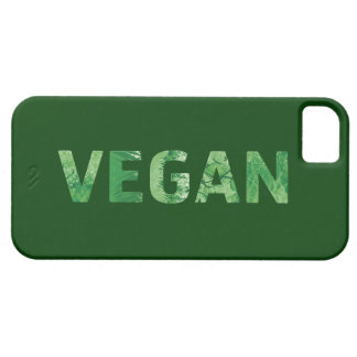 Vegan Text Art - Happy Quote Case For The iPhone 5