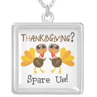 Vegan Thanksgiving Necklace