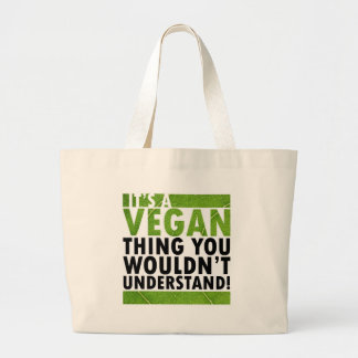 Vegan Thing Large Tote Bag