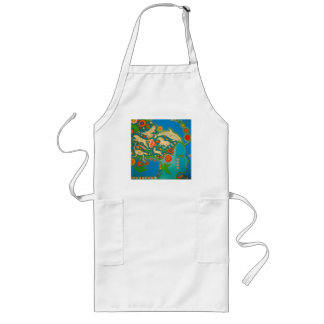 Vegan to hate freedom long apron
