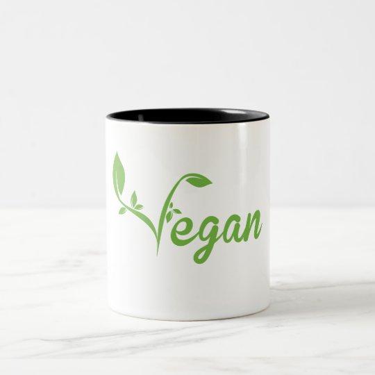 Vegan Two-Tone Coffee Mug
