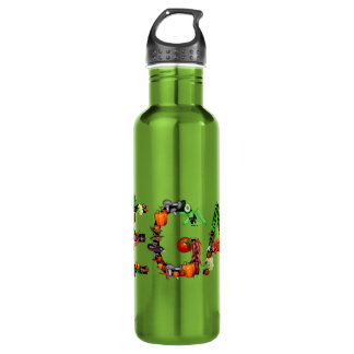 Vegan Vegetables 710 Ml Water Bottle