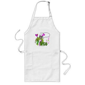 vegan-vegetarian african/american cook long apron