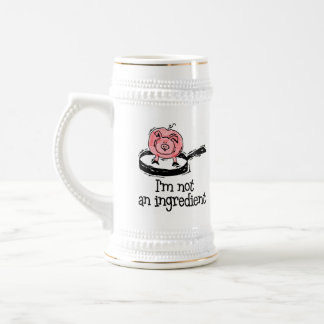 Vegan/Vegetarian Beer Stein