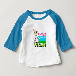 Vegan/vegetarian chef baby T-Shirt