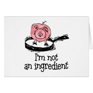Vegan/Vegetarian Greeting Card