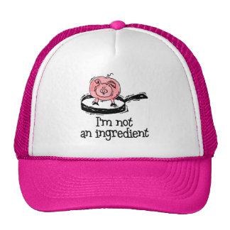 Vegan Vegetarian Hat Cap