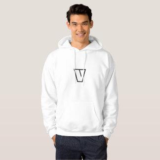 """Vegan Vegetarian  Hoodies """"V"""" the Veggie Monster"""