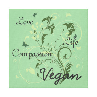 Vegan wall art