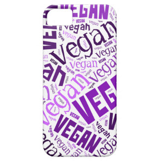 """""""Vegan"""" Word-Cloud Mosaic Case For The iPhone 5"""