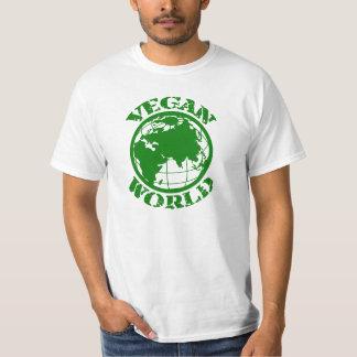 Vegan World T Shirts