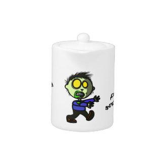 Vegan Zombie Tea/Coffee Pot