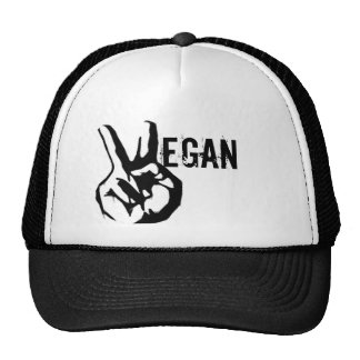Veganism Peace Hat