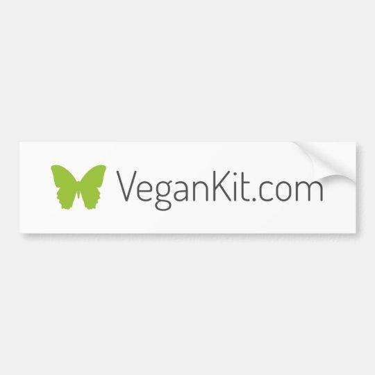 VeganKit Bumper Sticker