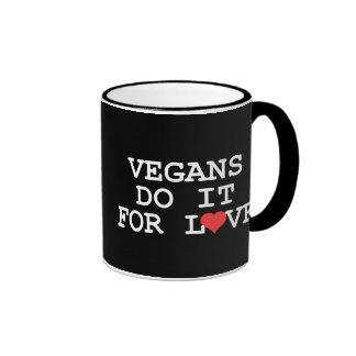 Vegans Do It For Love Mug