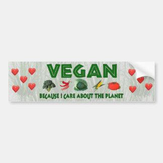 Vegans for the Planet Bumper Sticker