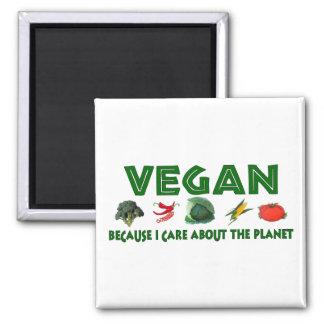 Vegans For The Planet Magnet