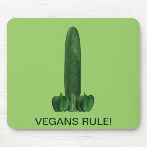 Vegans Rule! Mousepads