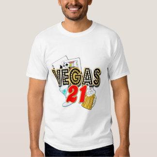 Vegas 21st Birthday Tee Shirt