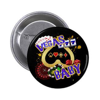 VEGAS BABY 6 CM ROUND BADGE