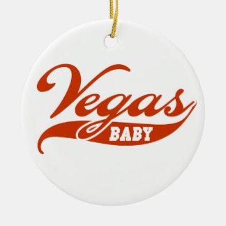 Vegas Baby Christmas Ornament