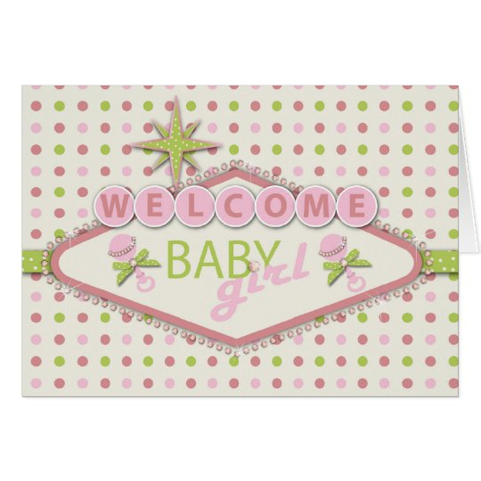 Vegas Baby Shower Invitation Card 2