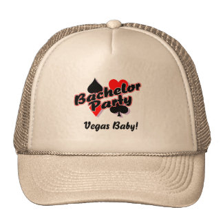 Vegas Bachelor Party Hats
