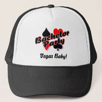 Vegas Bachelor Party Trucker Hat