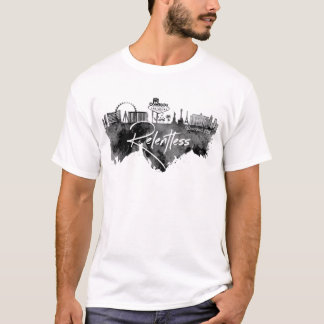Vegas Black Watercolor T-Shirt