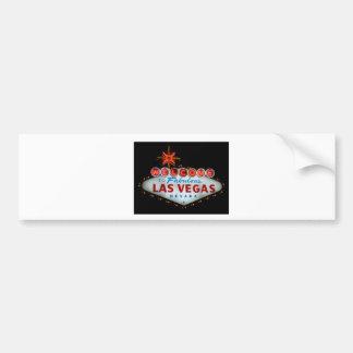 Vegas Bumper Sticker