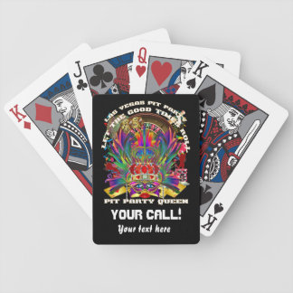 Vegas Casino Party Pit Please View notes Bicycle Playing Cards