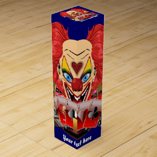 Vegas Clown Any Party View About Design Wine Bottle Box