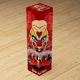 Vegas Clown Any Party View About Design Wine Bottle Boxes
