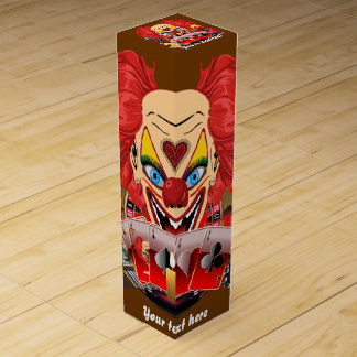 Vegas Clown Any Party View About Design Wine Boxes