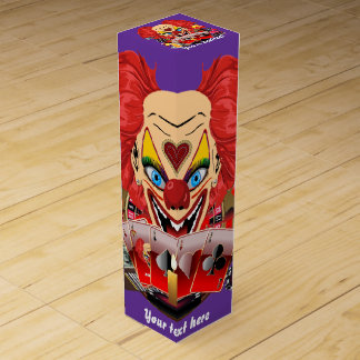 Vegas Clown Any Party View About Design Wine Gift Boxes