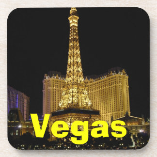 Vegas Cork Coaster