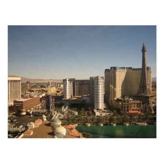 Vegas Day Postcard