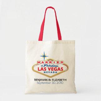 Vegas Destination Wedding Commemorative Tote