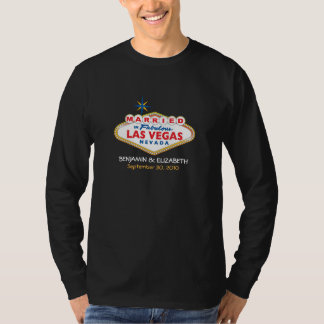 Vegas Destination Wedding Mens T-Shirt (dark)