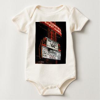 Vegas Frontier Sign Baby Bodysuit
