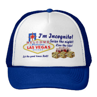 Vegas Ingognito All styles Light View Hints Cap