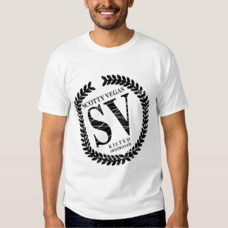 Vegas Logo 2 Tone T Shirts