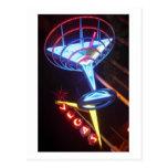 Vegas Martini Post Cards