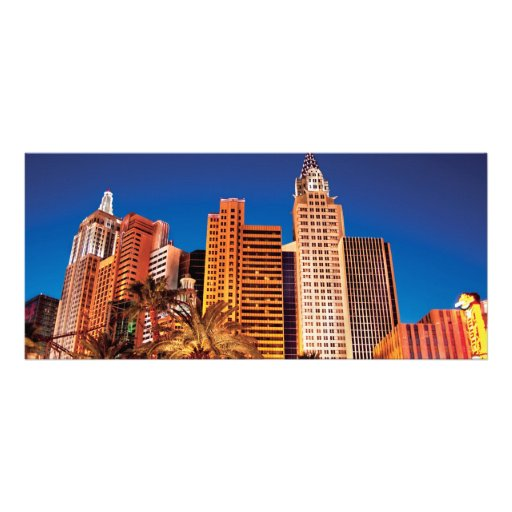 Vegas - NY - The New York, New York Hotel Personalized Rack Card