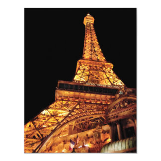 Vegas - Paris - Eiffel Tower Restaurant Card