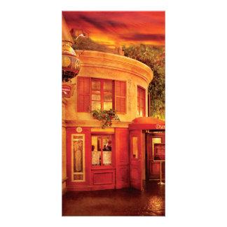 Vegas - Paris - Vins Detable Customized Photo Card